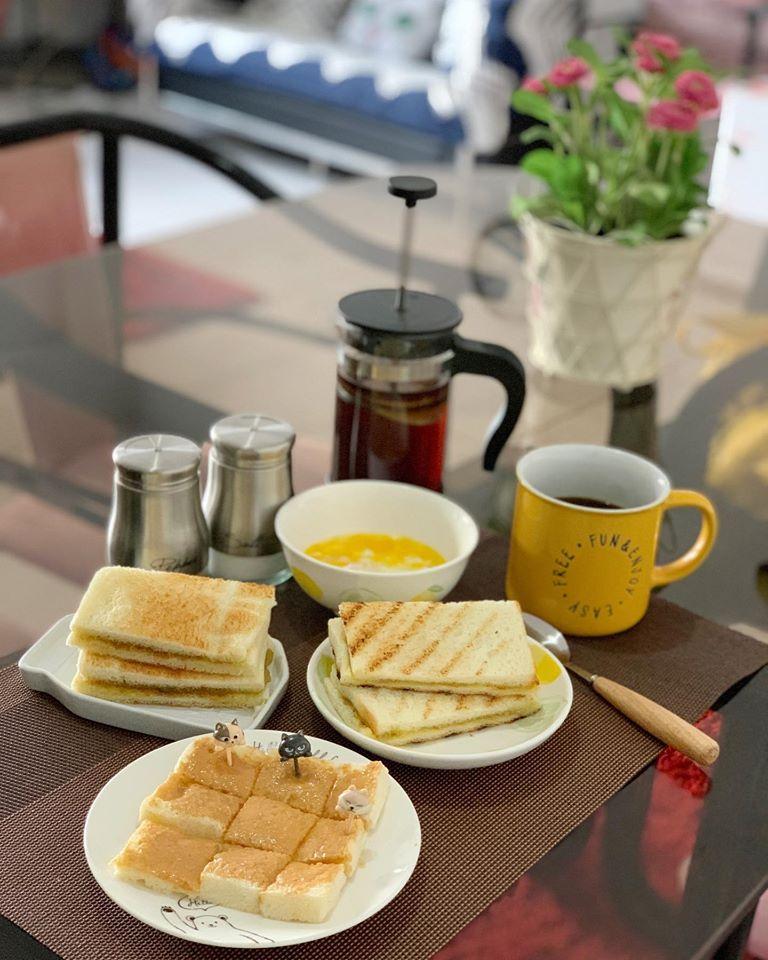 Kopitiam Breakfast with Nonya Kaya