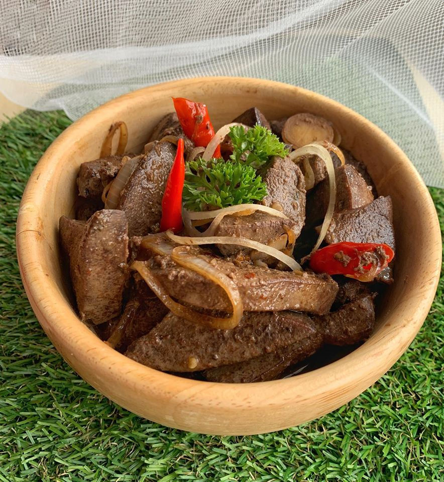 Pork Liver Steak