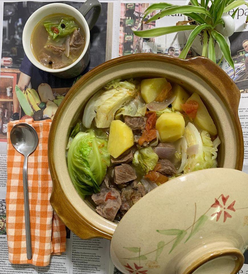 Pinoy Dish - Kinamatisan na Baka