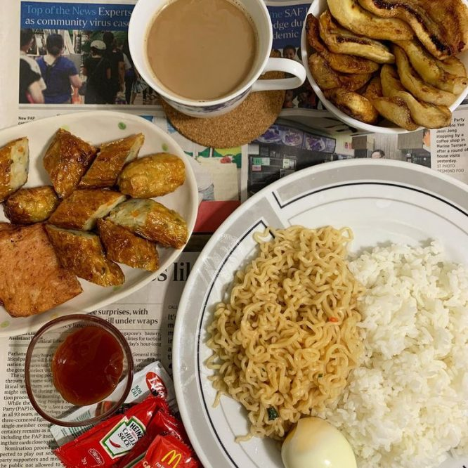 Pinoy Food - Instant Pancit Canton