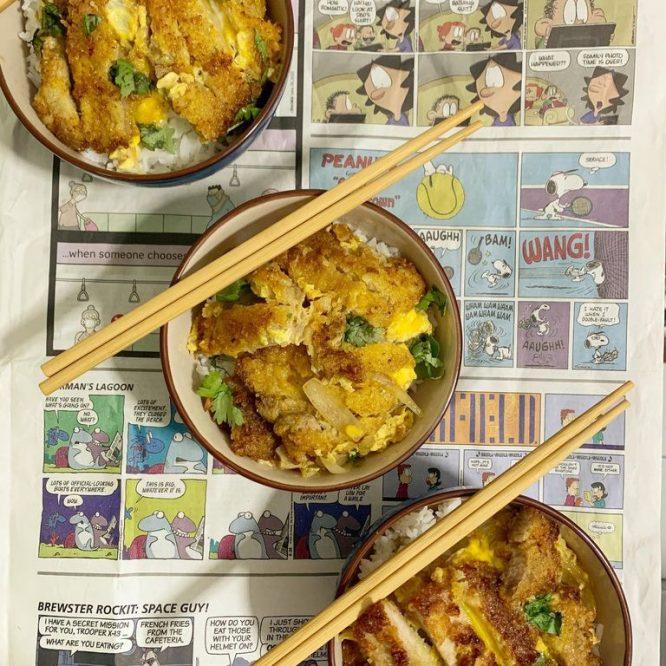 Japanese Food - Katsudon