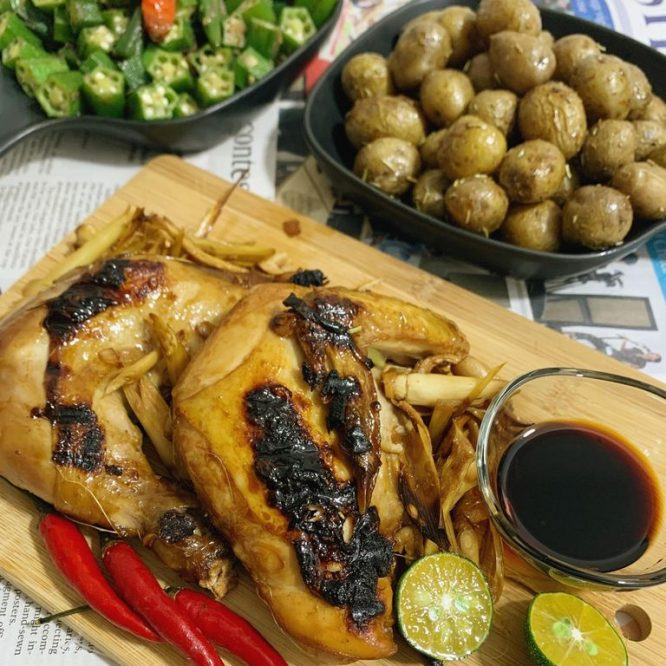 Two steps Chicken Inasal