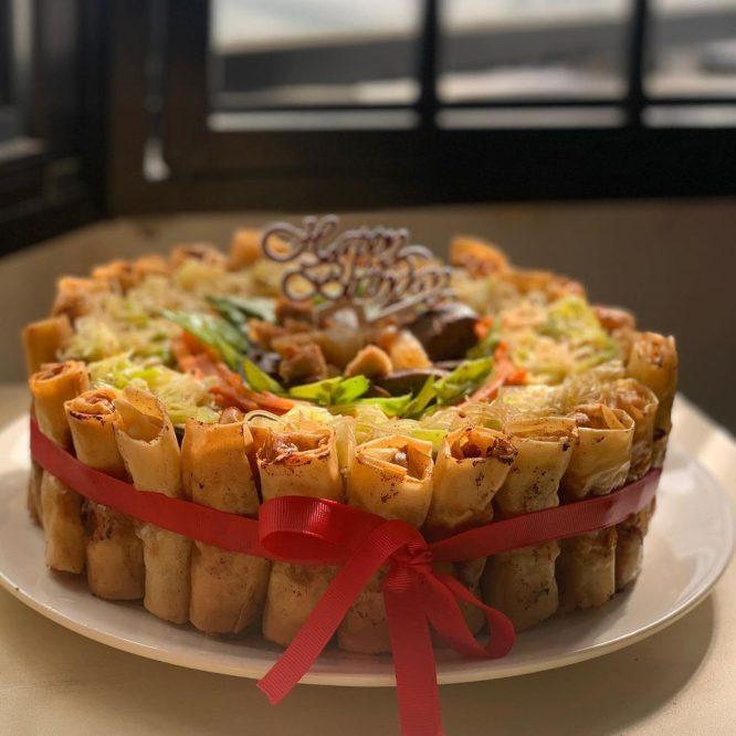 Pancit Cake