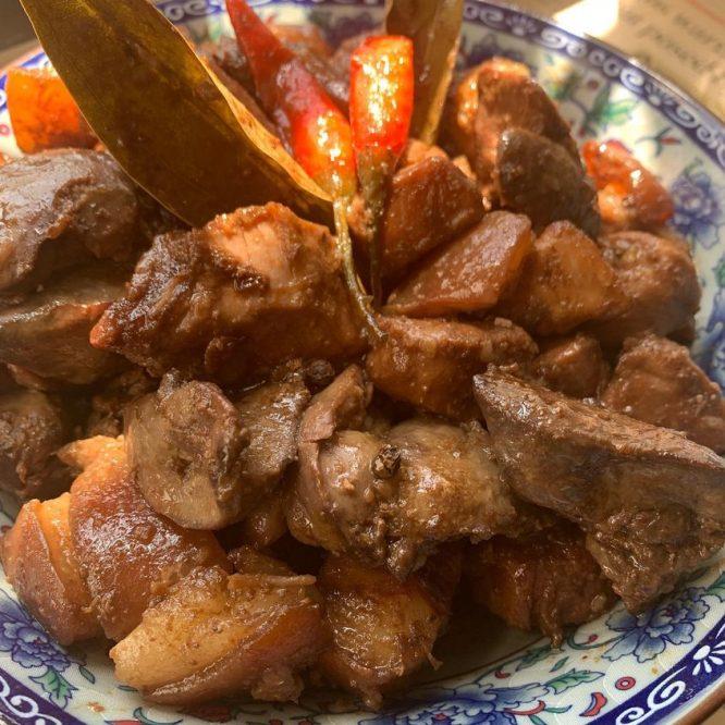 Classic Dry Pork Adobo