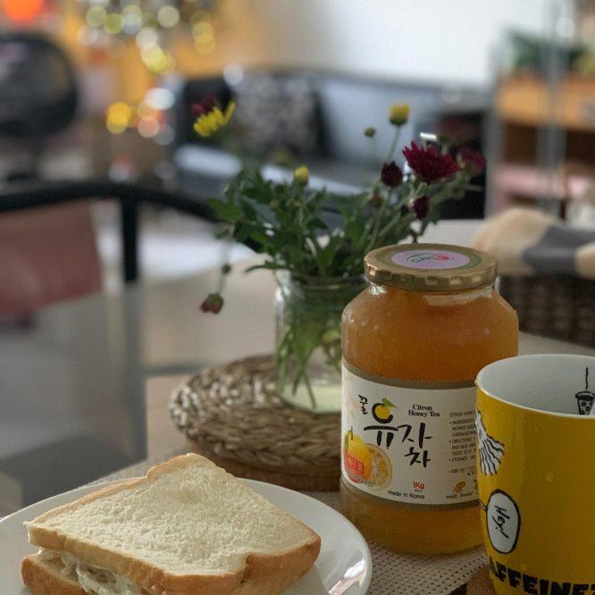 House of Hazelknots - Kewpie Sandwich with Citron Tea