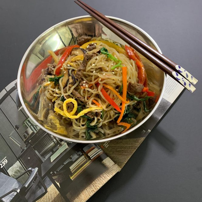 Korean Food - Japchae