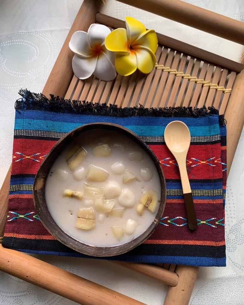 Pinoy Food - Pinaltok or Ginataang Bilo-bilo - House of Hazelknots