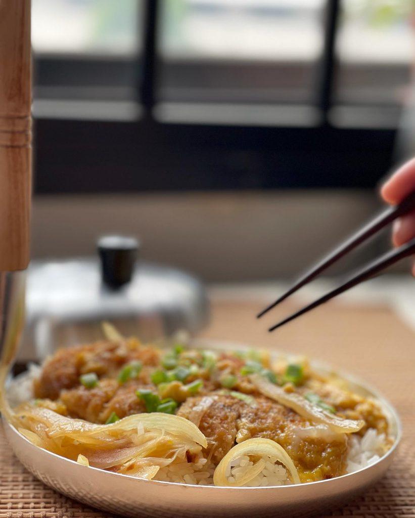 Japanese Food - Pork Katsudon