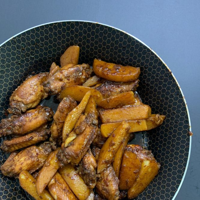 Pinoy Food - Dry Chicken Adobo