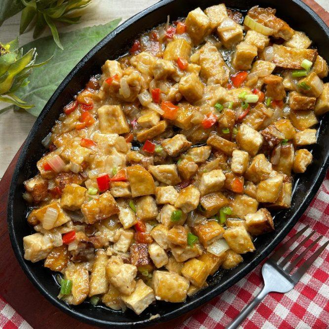 Chinese Dish - Sizzling Tofu