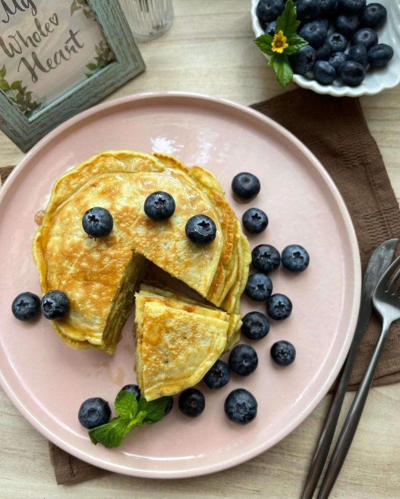 Healthy Breakfast - Avocado Pancake