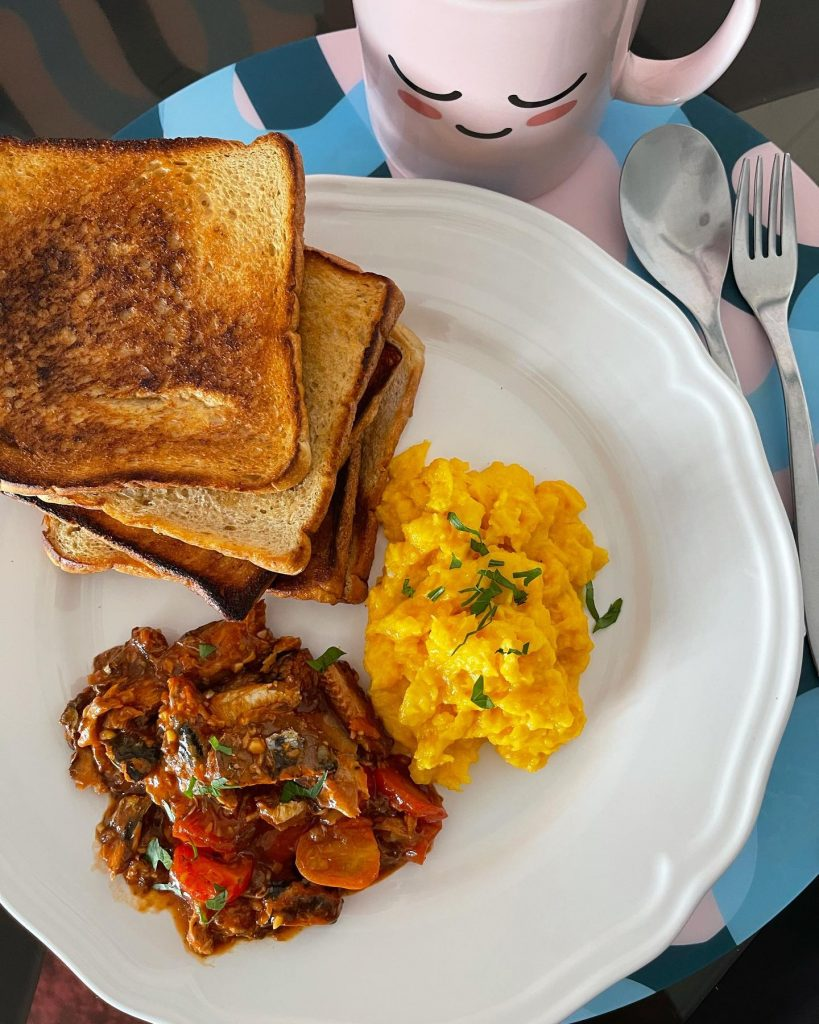Breakfast - Sauteed Sardines - House of Hazelknots