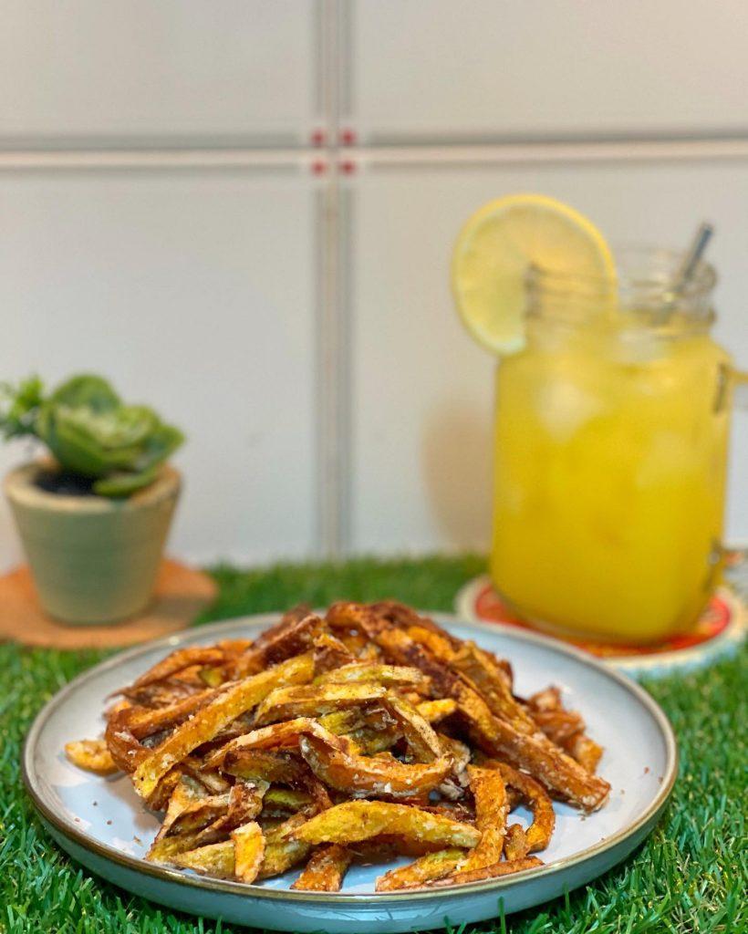 Cinnamon Squash Fries - House of Hazelknots