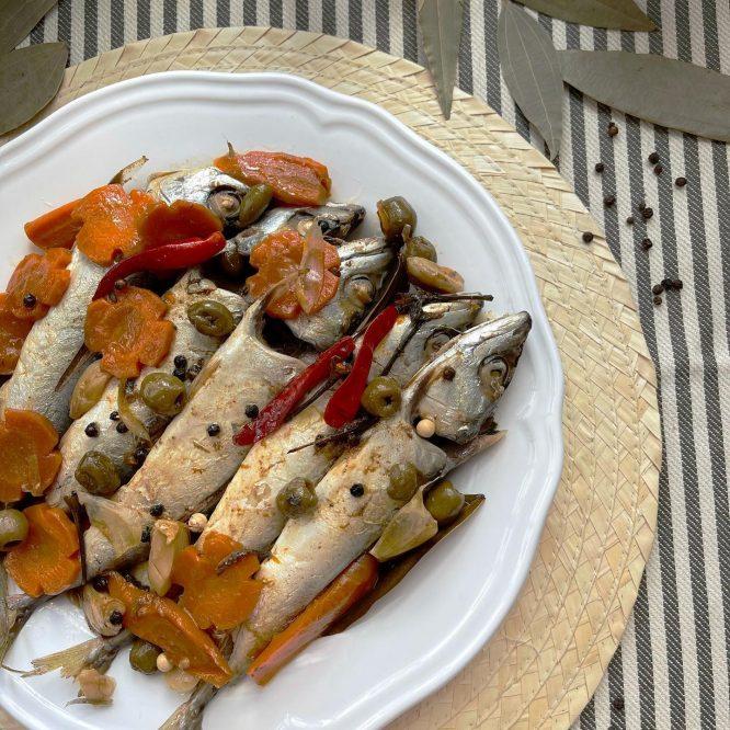 Homemade Spanish Style Sardines