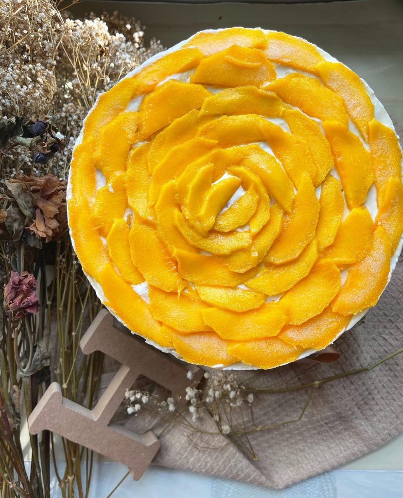 Mango Refrigerated Cake - House of Hazelknots